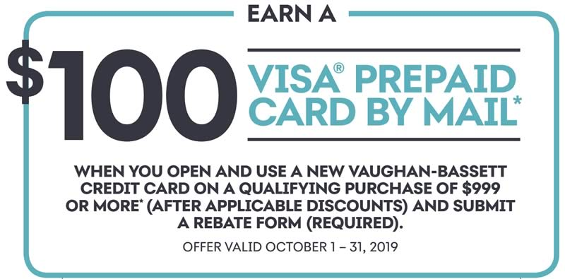 Earn a $100 VISA Card