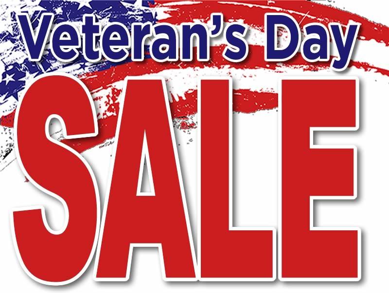 Cole's Veteran's Day Sale