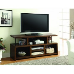 TV Console with 5 Storage Compartments