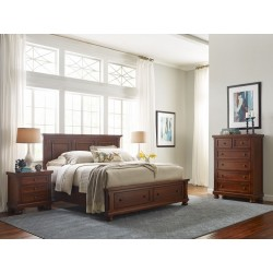 Reflections Bedroom Collection - Medium Cherry