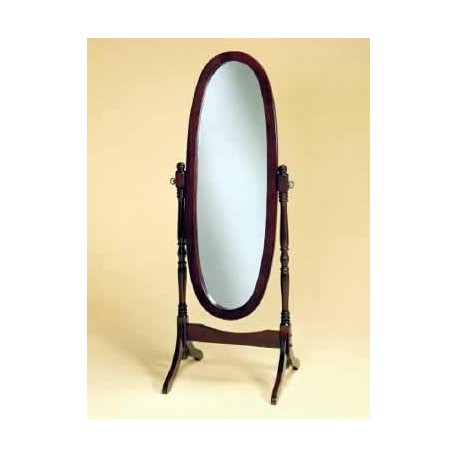 Full Length Oval Bedroom Mirror
