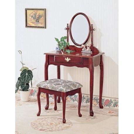 Queen Anne Vanity Set