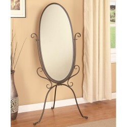 Metal Cheval Mirror