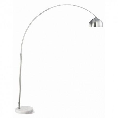 Metal Floor Lamp in Chrome