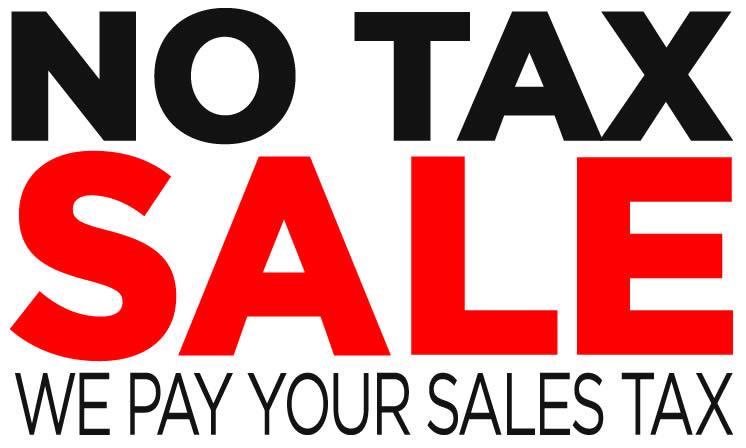 No Tax Sale
